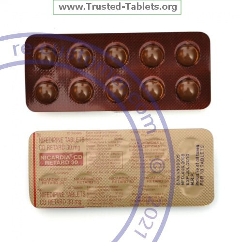 Trustedtabs Pharmacy. adalat-cc tablets. Uses, Side Effects, Interactions, Pictures