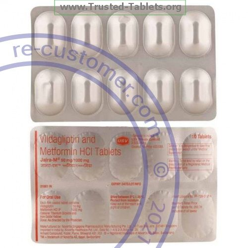 Trustedtabs Pharmacy. galvumet tablets. Uses, Side Effects, Interactions, Pictures