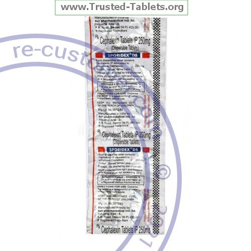 Trustedtabs Pharmacy. keflex tablets. Uses, Side Effects, Interactions, Pictures