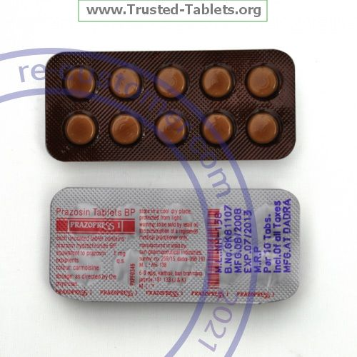 Trustedtabs Pharmacy. minipress tablets. Uses, Side Effects, Interactions, Pictures