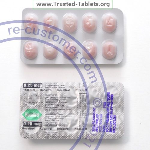 Trustedtabs Pharmacy. rocaltrol tablets. Uses, Side Effects, Interactions, Pictures
